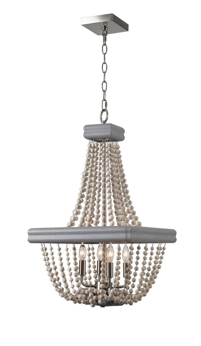 Drape 4 Light Chandelier