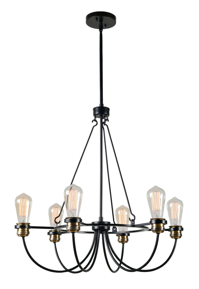 Damien 6 Light Chandelier