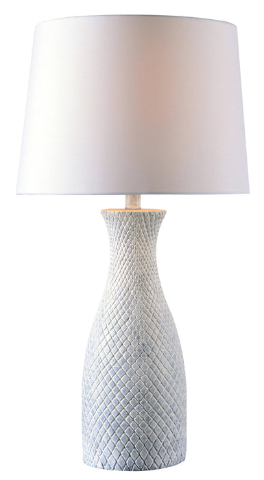 Hatched Table Lamp