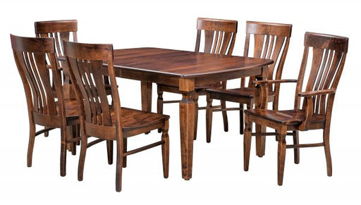 Fiona Custom Amish Dining Table Set