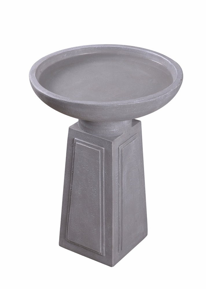 Pedestal Outdoor Bird Bath