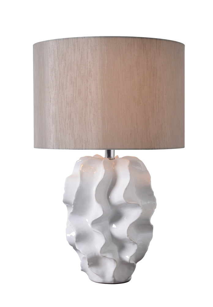 Ruffle Table Lamp