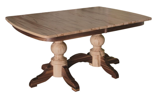 Kowan Double Pedestal Dining Table