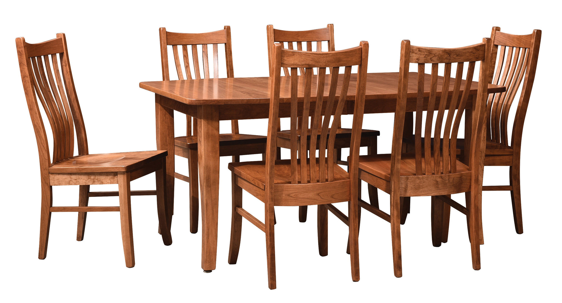 Reagan Custom Amish Dining Table Set