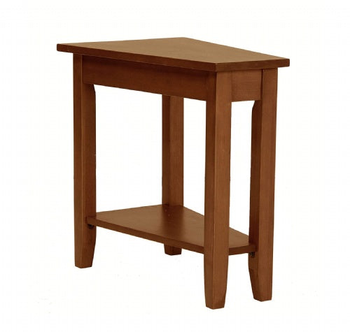 Angled End Table
