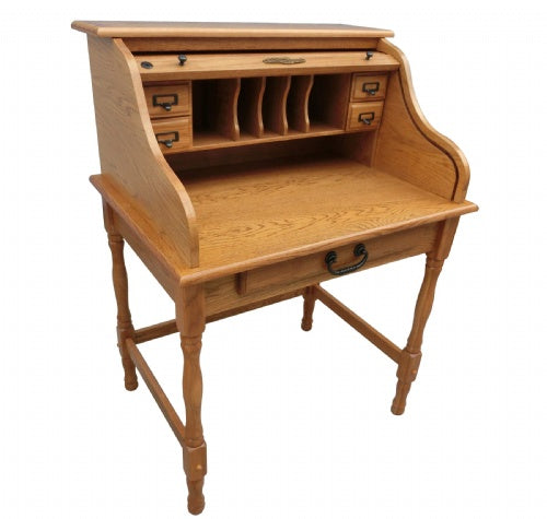 "8932 32"" Mini Roll Top Desk"