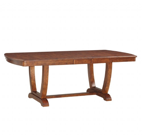 "Cambrige Trestle Table Top, 42"" X 72""(X84"" W/1-12"" Butterfly ) X 30""H"
