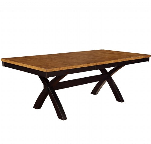 "Quinton X Base Table Top, 42"" X 66"" (X 84"" W/1-18""Butterfly)"