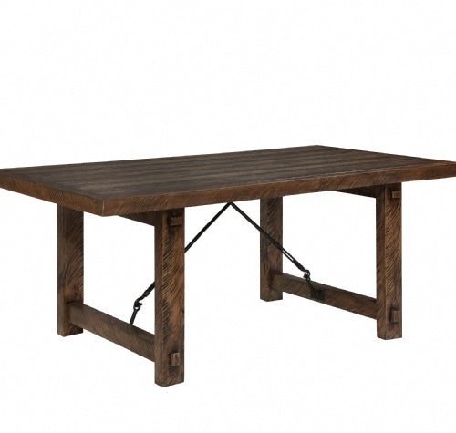 "Rustic Lodge Table Top, 40"" X 72"" X 30""H"