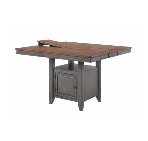 "St. Pete Gathering Table Top, 54 X 42 (X 54W/1-12"" Leaf) X 36H"