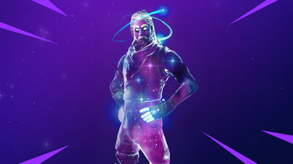 Fortnite Galaxy Skin Bundle (Applied to your account)-Supreme Wizardry