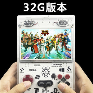 Gameberry Retropie Lakka Retro Pie Raspberry Pi 15000 Retro Game inside Handheld Gaming 5 inch Screen 10000mA Battery