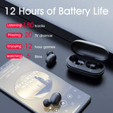 Fingerprint Touch Bluetooth HD Earphones With Noise Cancelling