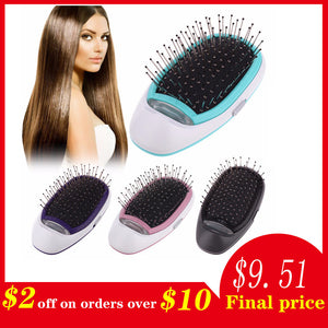 Portable Electric Ionic Hairbrush