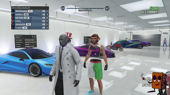 Gta 5 Modded account (All consoles)-Supreme Wizardry