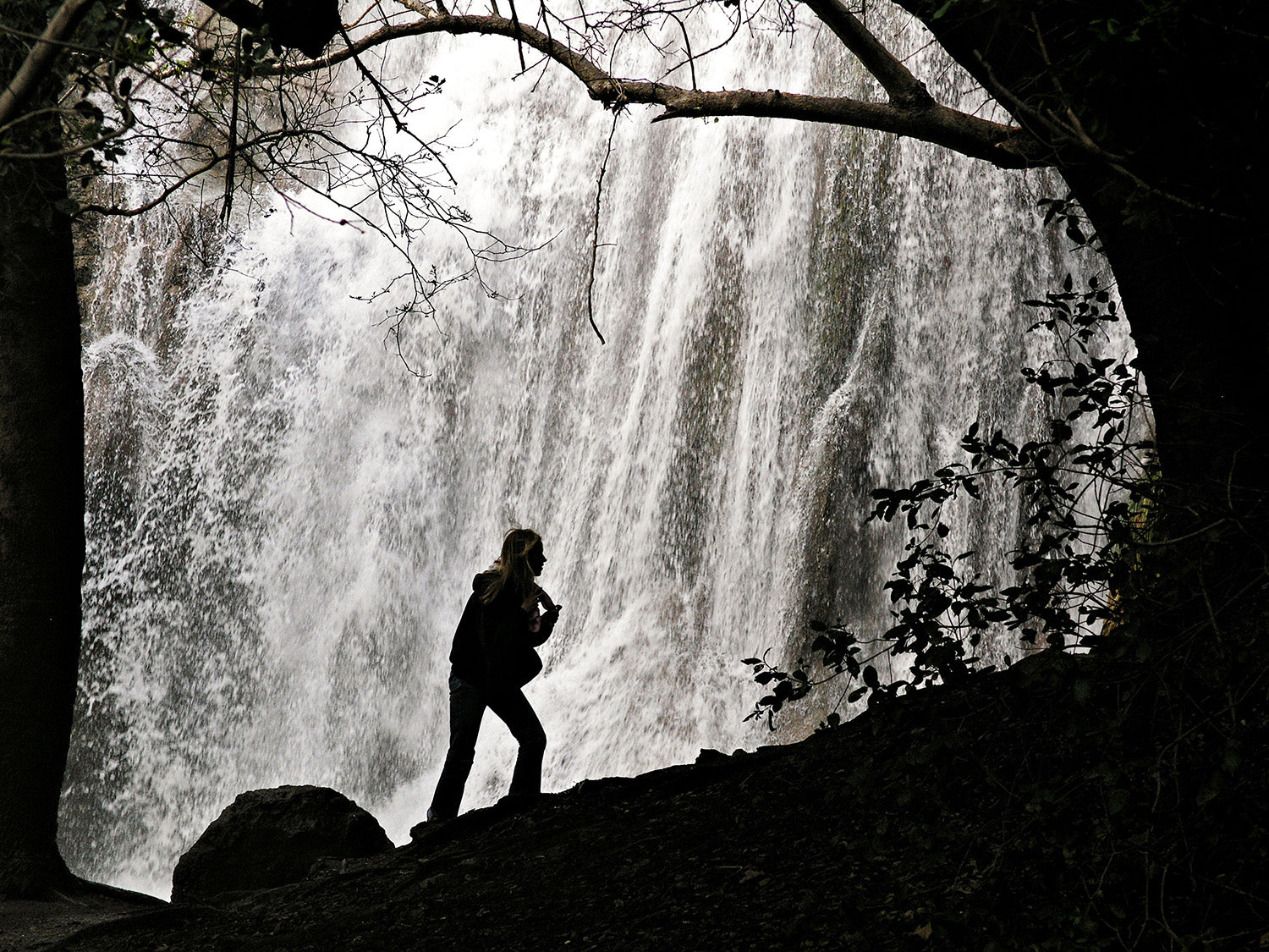 Escondido Falls (best hiking trails in LA for locals)