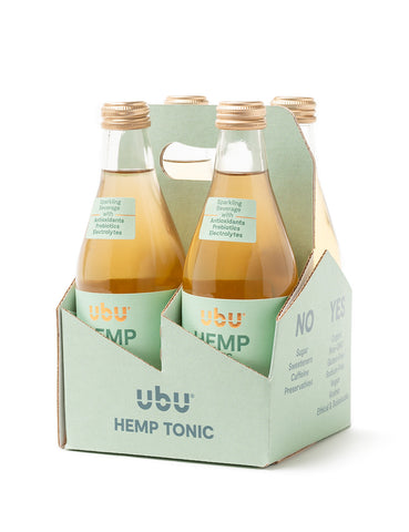 UbU Hemp Tonic 4-Bottle Trial Pack