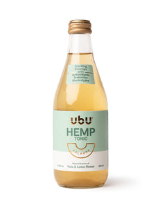 Hemp CBD Tonic - Yuzu & Lotus Flower (Case of 12)