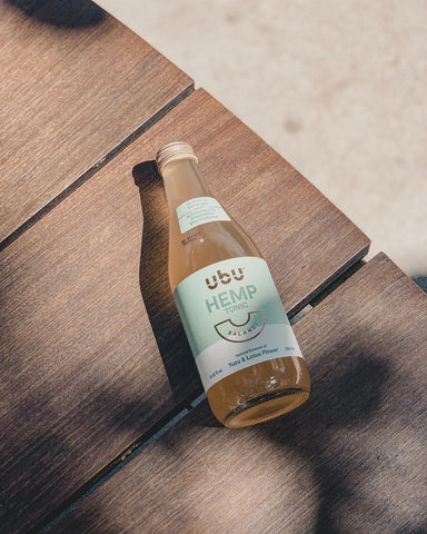UbU Hemp CBD Tonic - Yuzu & Lotus Flower (Case of 12)