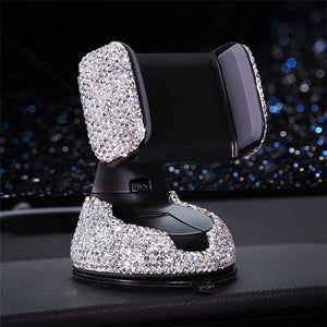 Crystal Dashboard Phone Holder - Carreau