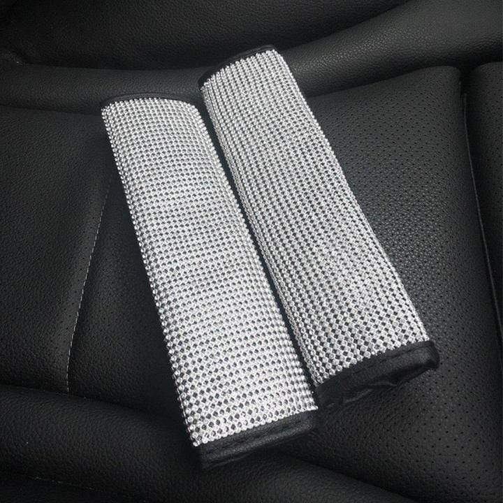 Crystal Seat Belt Cover (Duo Pack) - Carreau