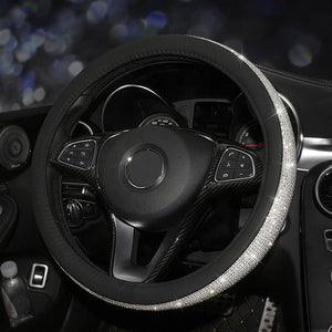 Crystal Steering Wheel Cover - Carreau