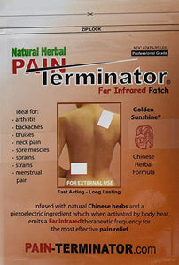 Golden Sunshine - Pain Terminator Far Infrared Patch