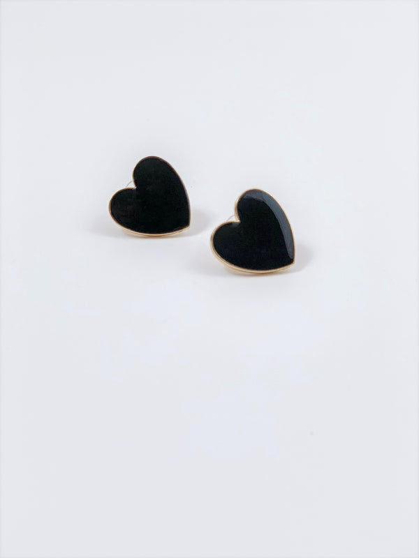 Maja Heart Earrings