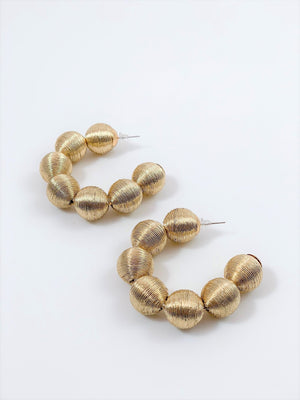 Anna Hoop Earrings
