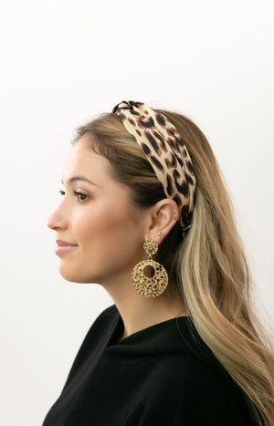 Bethany Cheetah Headband