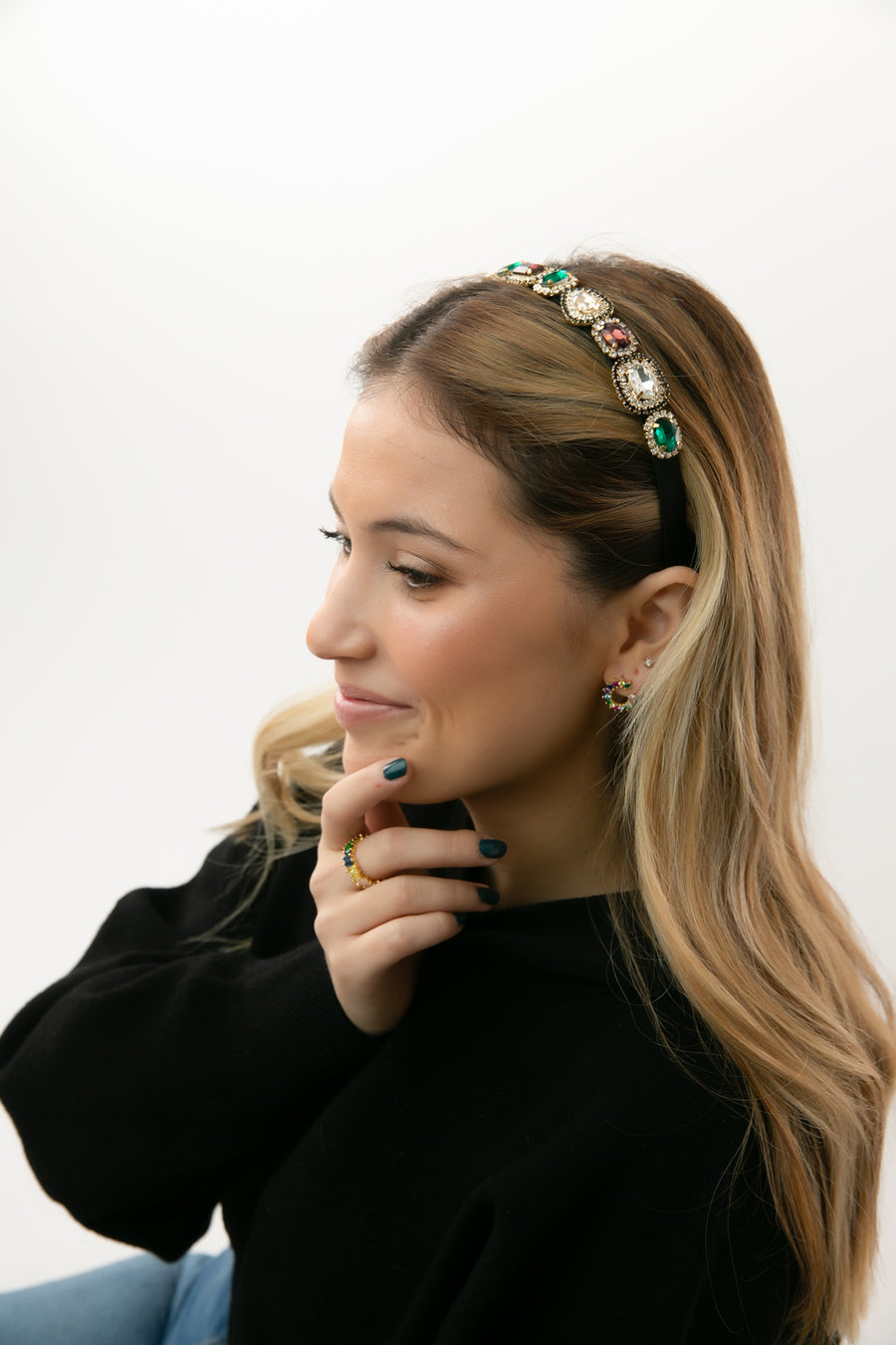 Lindsey Gem Headband
