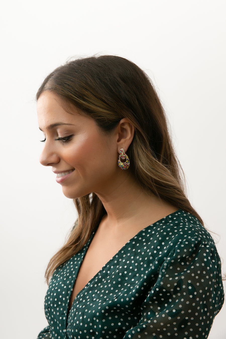 Michal Studded Earrings