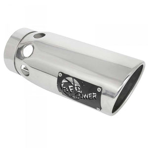 "AFE 49T50601-P161 6"" INTERCOOLED POLISHED EXHAUST TIP"