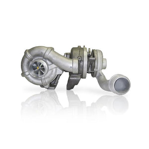 6.4L FORD POWER STROKE 59MM BILLET 11 BLADE HIGH PRESSURE TURBOCHARGER & 72MM BILLET 7 BLADE LOW PRESSURE TURBOCHARGER
