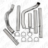 "MBRP 4"" SLM SERIES TURBO-BACK EXHAUST SYSTEM S6200SLM"