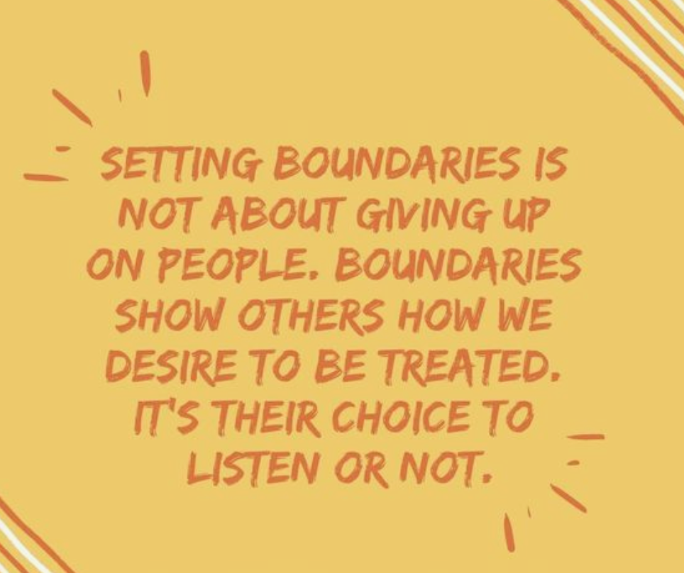 set boundaries image