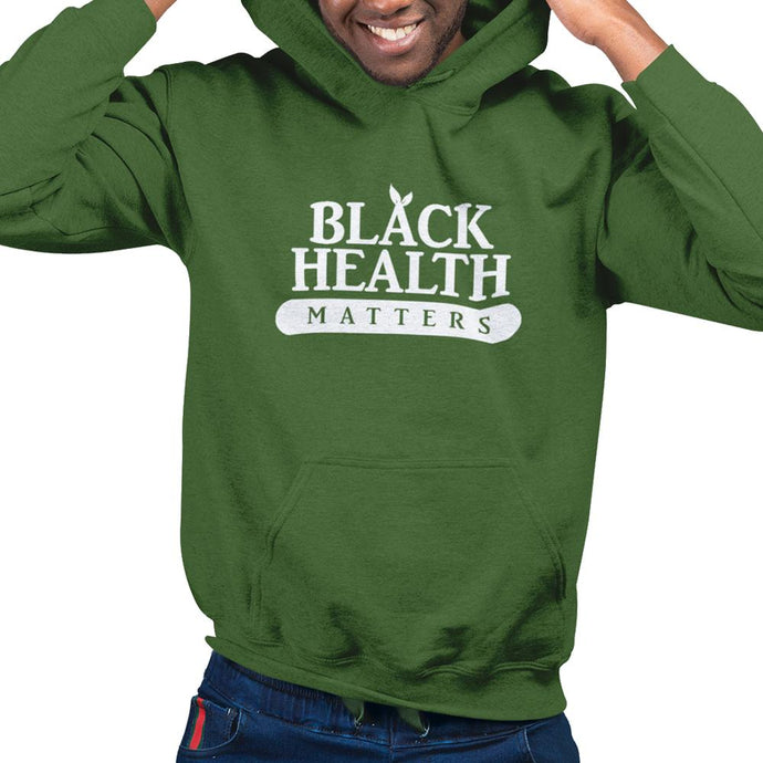 Black Health Matters: Unisex Wellness Hoodie