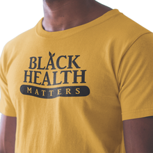 "Load image into Gallery viewer, Men's ""Black Health Matters"" Crew Tee"