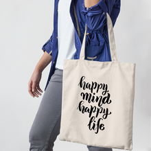 Load image into Gallery viewer, Happy Mind : Wellness Tote