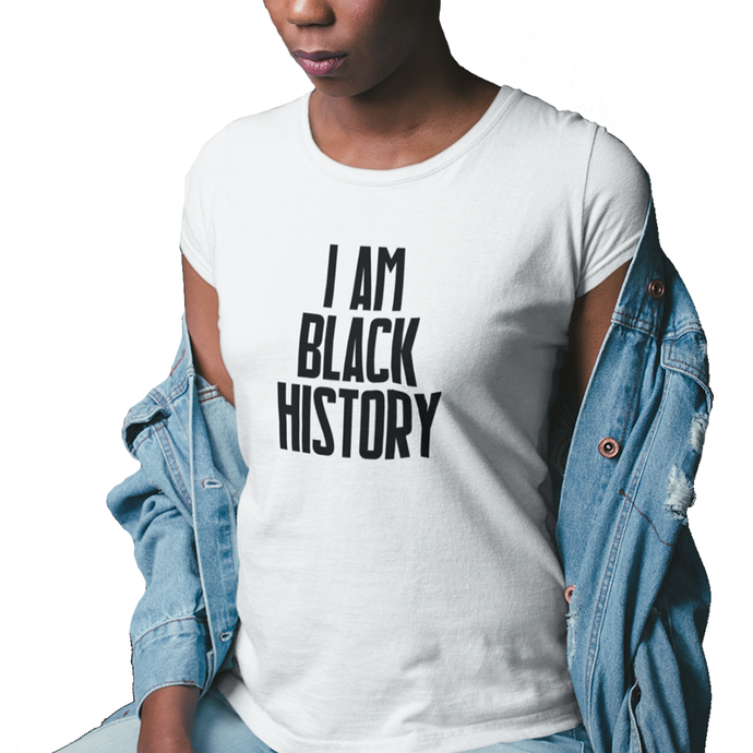 I Am Black History: Unisex Wellness Tee