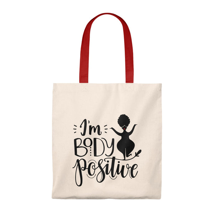 Body Positive Tote Bag