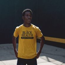 "Load image into Gallery viewer, Unisex ""Black Health Matters"" Crew Tee"
