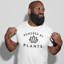 Load image into Gallery viewer, Unisex Powered By Plants T-Shirt