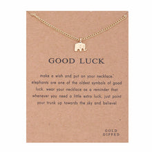 Load image into Gallery viewer, Positive Vibes Only: Good Luck Necklace