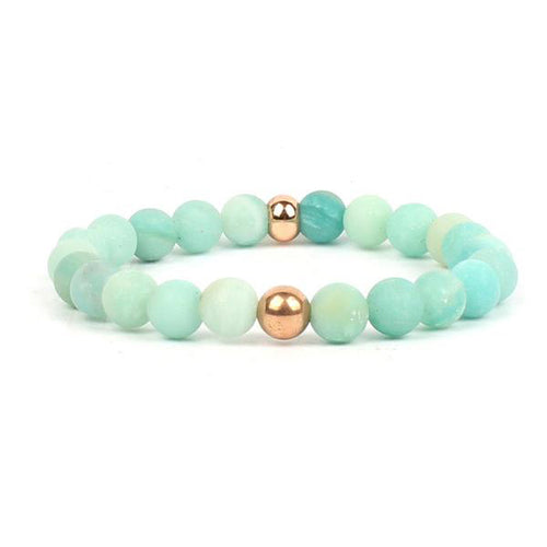 Mala Bracelet for Harmony and Self-Awareness: Amazonite
