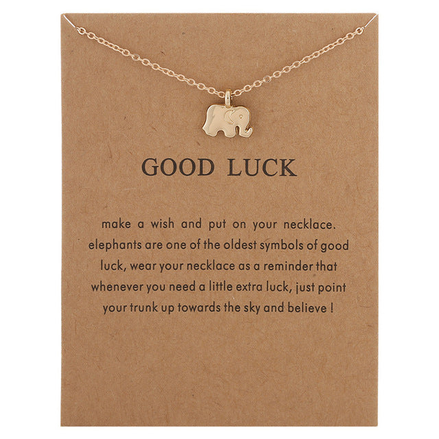 Positive Vibes Only: Good Luck Necklace
