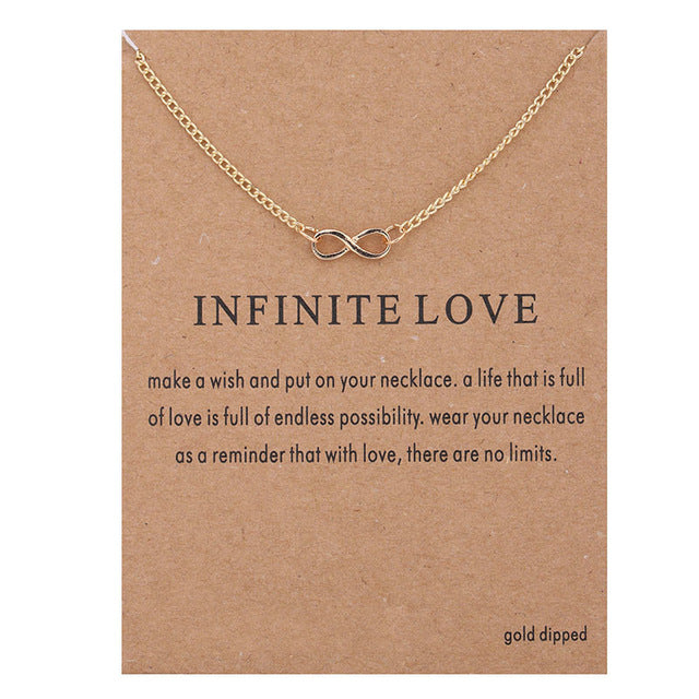 Positive Vibes Only: Infinite Love Necklace