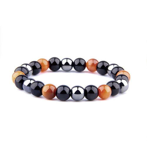 Health and Energy Hematite Grounding Bracelet