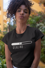 Load image into Gallery viewer, Unisex Healing in Progress Wellness T-Shirt