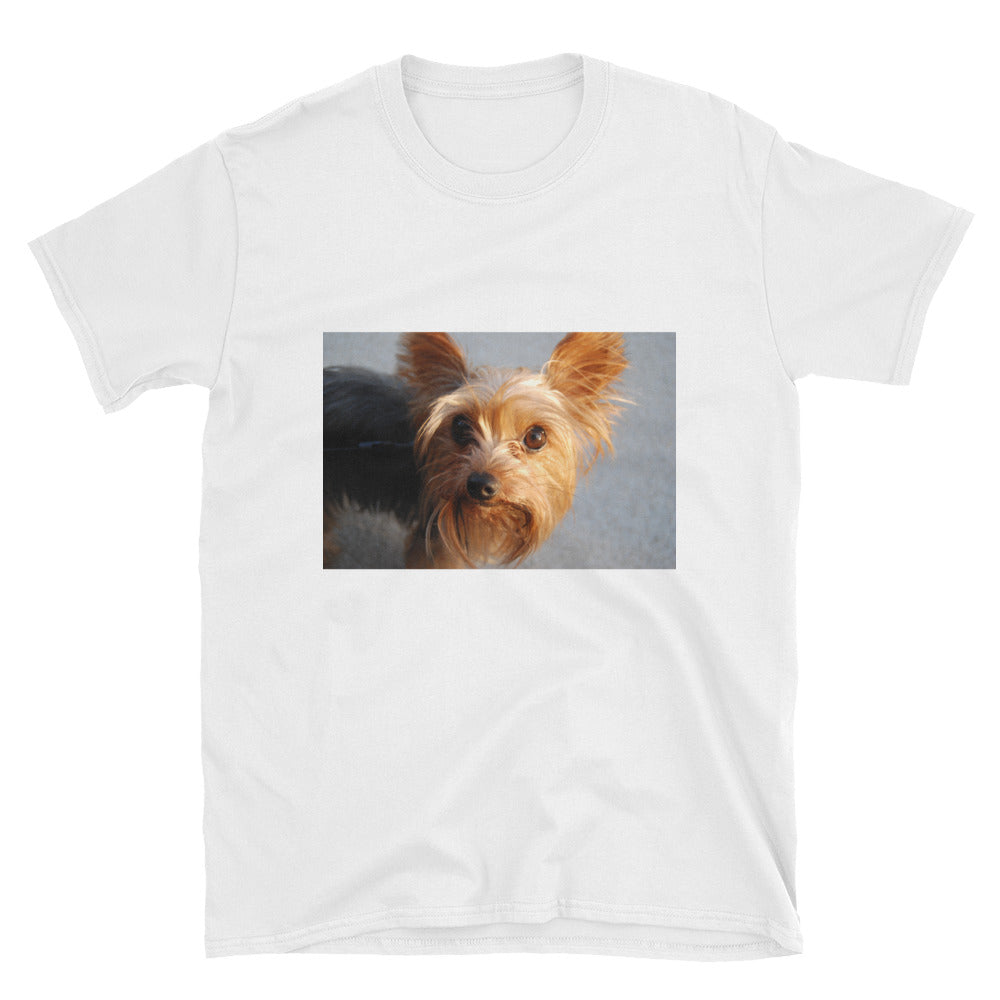 Short-Sleeve Yorkshire Terrier Unisex Tshirt